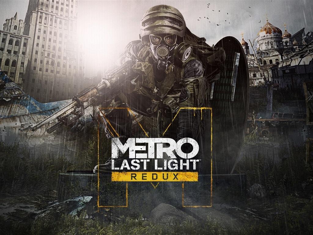Почему в metro 2033 redux не видно персонажей