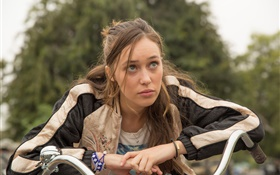 Бойся Walking Dead, Alycia Debnam Carey HD обои