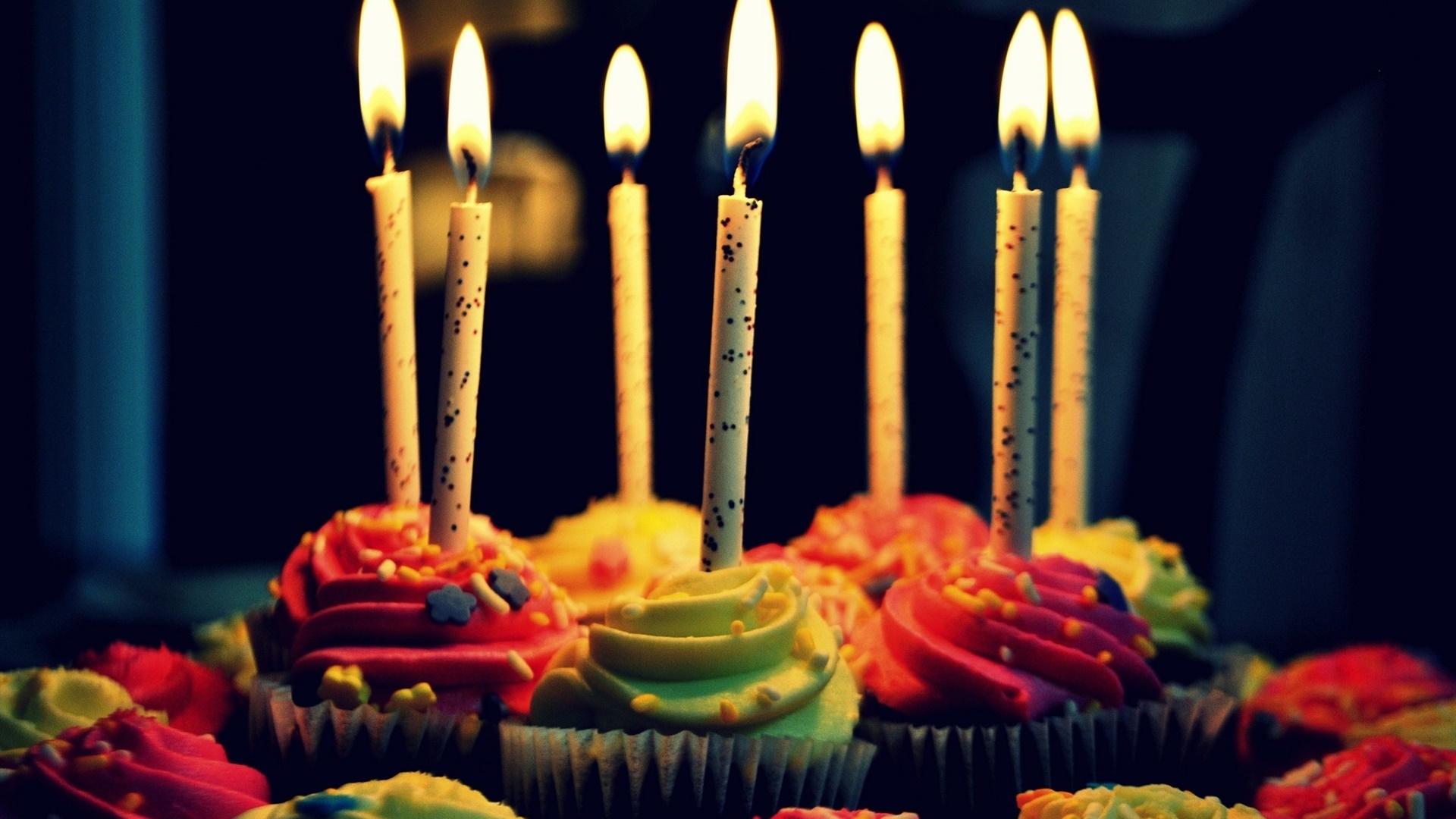 Открытки с днем рождения свечи 409