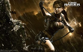 Tomb Raider: Underworld, Лара Крофт в дождь