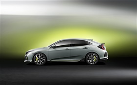 Honda Civic Hatchback автомобиль HD обои