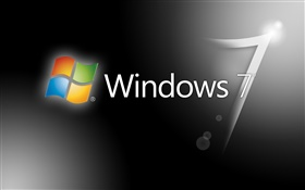 Windows 7 серый фон HD обои
